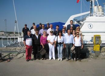 Futuro del porto di Ravenna. In visita la seconda Commissione consiliare della provincia Forlì-Cesena.
