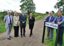 Una nuova via a Peterborough ( GB), ma dedicata a Forlì, la città gemella.