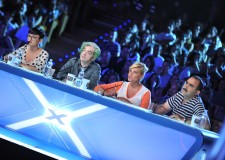 Simona Ventura, Morgan, Elio e Arisa. I giudici di X Factor a Forlì.
