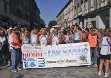 La maratona dei due Stati. Scatta per la 22ma volta il 'Trofeo Banca di San Marino'