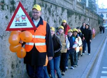 Misano Adriatico. Per la settimana europea della mobilità una giornata per le famiglie alla scoperta del progetto 'Piedibus'.