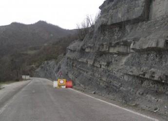 Strada provinciale 25, stop alla circolazione in località Valbura.
