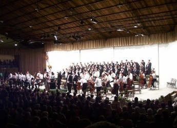 150 anni dell'Unità d'Italia. Banda Giovanile Città di Rimini e coro Galli al Novelli
