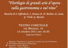 Teatro comunale. Concerto promosso per i 150 anni dell'Unità d'Italia.