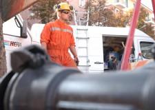 Rimini. Piano salvaguardia balneazione. Hera al lavoro per un delicato intervento alla rete idrica.