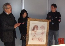 Moto Gp, Misano ricorda Shoya Tomizawa con un ritratto di Tiziana Costa.