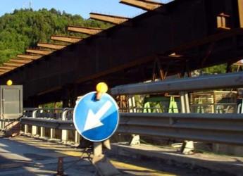 Lavori di ripristino del viadotto Fornello E45. Ci siamo