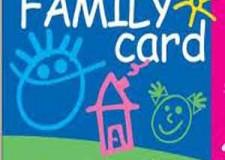 Bellaria Igea Marina. Rinnovata l'adesione alla Family Card fino a fine 2015, un'iniziativa a sostegno della fasce più deboli con sconti di varia natura.
