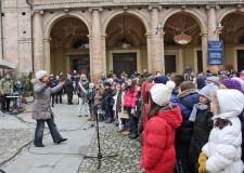 Bagnacavallo celebra i 67 anni di Liberazione. Messa e canti con gli alunni