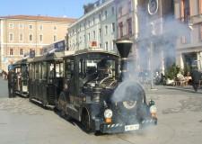 Trenini ecologici e gratuiti. Dai parcheggi al centro storico di Rimini