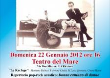 Note di donne al Teatro del Mare. Tra musica e psicoanalisi.