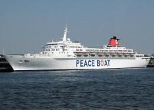La Nave della pace per dire 'no' al nucleare, salpa dal Giappone