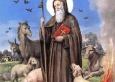 17 gennaio: Sant'Antonio Abate. Il santo del fuoco e degli animali