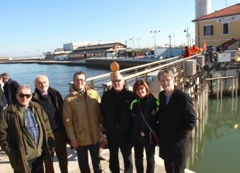 Sei delegazioni europee in visita a Cesenatico. Per studiare le Porte vinciane.