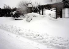 Neve a Bellaria Igea Marina. Rimandata la festa di Sant'Apollonia e scuole chiuse