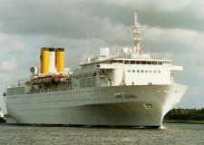 Costa, altro incidente: nave Allegra in fiamme. Soccorsi a mezzanotte.