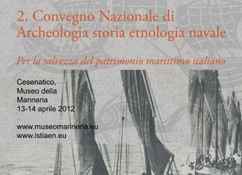 Convegno Nazionale di Archeologia, Storia ed Etnologia Navale, a Cesenatico
