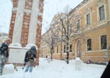 Neve, scuole chiuse anche lunedì 13 e martedì 14 febbraio a Santarcangelo, Verucchio, Poggio Berni e Torriana.