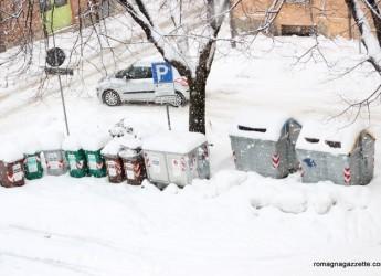 Neve & rifiuti, da oggi riaprono le stazioni ecologiche di Cesena, Forlì, Cesenatico e Forlimpopoli.