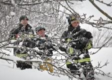 La neve ha colpito soprattutto la provincia di Rimini. Si contano i danni