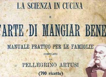 Forlimpopoli. Pellegrino Artusi protagonista della trasmissione 'De Gustibus' su History Channel.