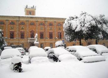 Emergenza neve. Continua a Cesena, Forlì e Ravenna. Appello alla popolazione