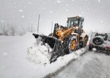Neve a Rimini. Liberate dall'isolamento più di 150 persone e 30 frazioni.