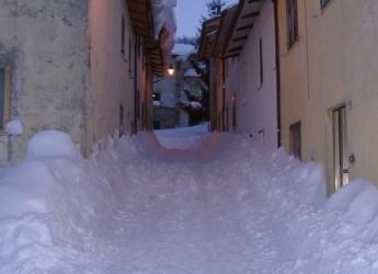 Emergenza neve. Previsti altri 50 cm di neve a Bagno di Romagna