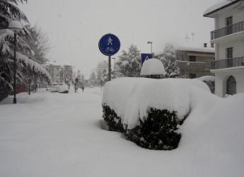 Emergenza neve. Scuole chiuse anche l'8 febbraio a Savignano, San Mauro e Gatteo