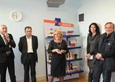 'Passaparole': biblioteche mobili donate all'Ospedale Marconi di Cesenatico.