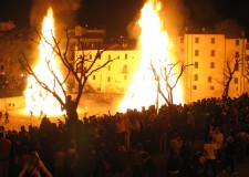 L'energia e la forza del fuoco. La Festa del Falò a Rocca San Casciano.