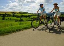 Ravenna. Scoprire i parchi in bicicletta e una targa per la bici.