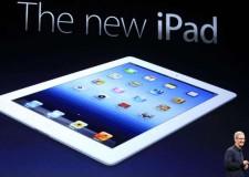 E' arrivato il nuovo iPad. Il nuovo tablet della Apple tutto da scoprire.