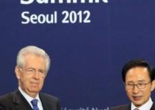 Seul. Obama incoraggia Monti. Presidente cinese Hu Jintao: investite in Italia.