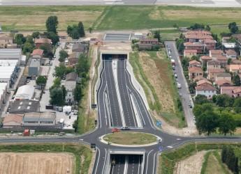 Forlì. Domani la chiusura della galleria della tangenziale in prossimità di via Ravegnano direzione Rimini.
