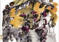 'Il giocoliere' di Tinin Mantegazza, con gli inchiostri di Ilario Fioravanti.