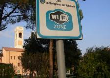 Valle del Rubicone. WI FI gratuito. Crescono a Savignano s/R gli utenti registrati.