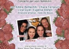Faenza. Le ragazze del Music Academy – Area 51 in 'Donne per le Donne'