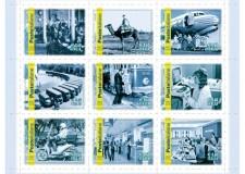 Raccolte filateliche. Reperibili a Rimini i nove francobolli che celebrano il 150° di Poste Italiane.