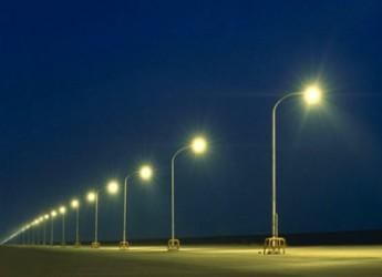 Riccione. Attivata l'illuminazione pubblica in via Reggello dopo ben quattro anni.