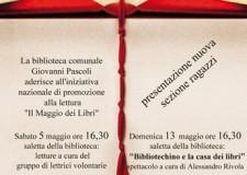 San Mauro Pascoli. Domenica 13 maggio, in scena lo spettacolo 'Bibliotechino e la casa dei libri'.