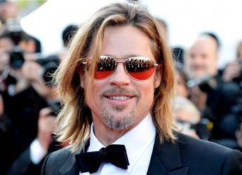 Brad Pitt a Cannes senza Angelina Jolie. Il matrimonio? Ancora nessuna data.