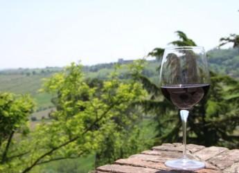 San Marino. Seconda edizione della disfida del 'Palio del Sangiovese'. A Borgo Maggiore si sfidano una trentina di etichette romagnole.