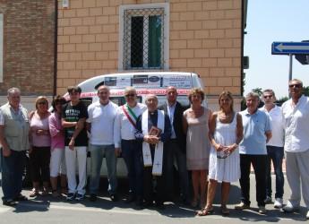 Misano Adriatico. In dono un Doblò,  per il trasporto di diversamente abili ed anziani.
