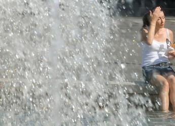 Caldo. Previsioni meteo: alte temperature oggi e domani con valori vicini ai 40 gradi.