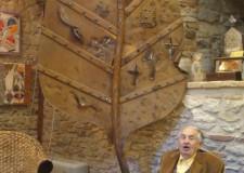 Cesenatico & Tonino Guerra. Ai Giardini del mare la suggestiva ' Cattedrale delle foglie'.