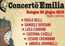 Emilia Romagna. Al terremoto risponde la musica! Questa sera il Concerto per l'Emilia a Bologna.