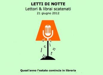 Emilia Romagna. 'Letti di Notte. Librai & Lettori': la bibliodiversità delle librerie indipendenti.