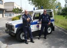 Anche la Polizia Municipale di Bellaria Igea Marina è nell'Emilia del 'post' terremoto.