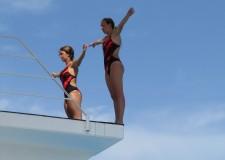 Emilia Romagna. Mondiali di nuoto a Riccione. Tuffi sincro: quarte Tecchi e Cicchetti.